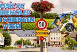 İşsiz ve Öğrenciler İçin Schengen Vizesi