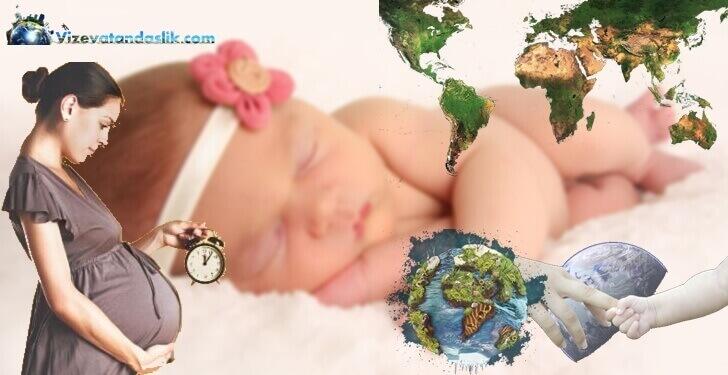 Doğum ile Vatandaşlık Veren Ülkeler