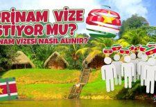 Surinam Vize İstiyor mu? Surinam Vizesi Nasıl Alınır?